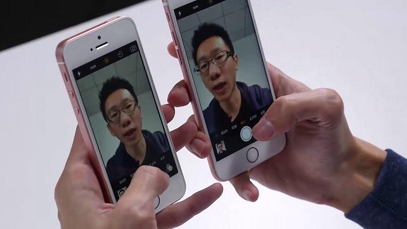 (2) camera iphone se 6s