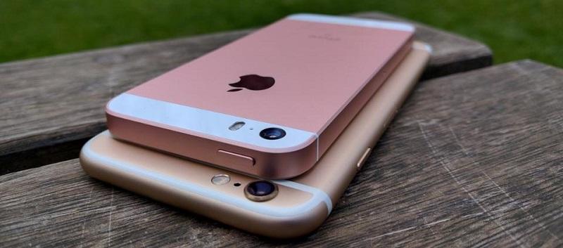 (2) iphone 6s iphone se