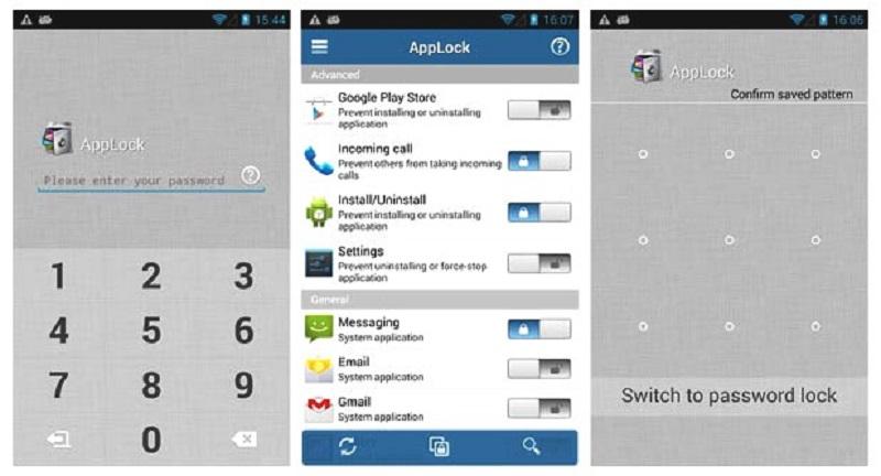 (2) lock apps