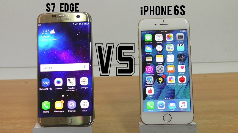(6) iPhone 6S VS Samsung Galaxy S7 Edge 2