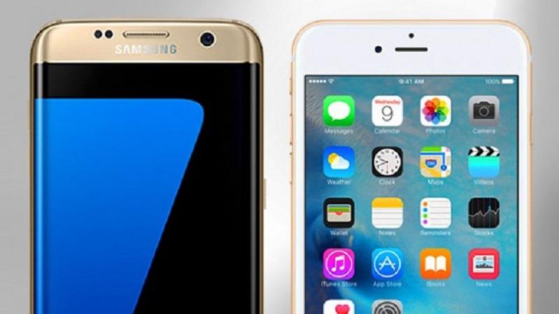 (6) iPhone 6S VS Samsung Galaxy S7 Edge