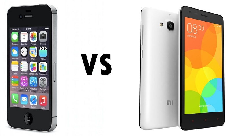 COVER 4S VS REDMI 2