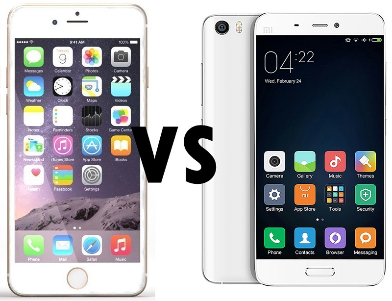 COVER IPHONE 6 VS XIAOMI MI5