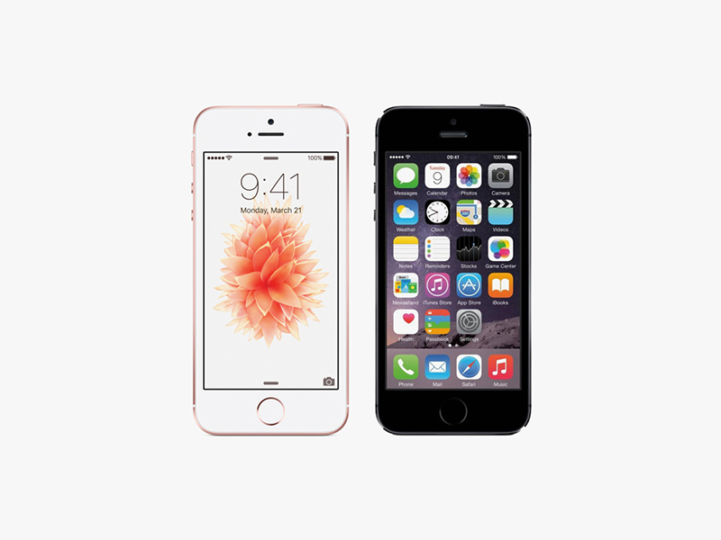 Iphone 5S VS IPHONE SE
