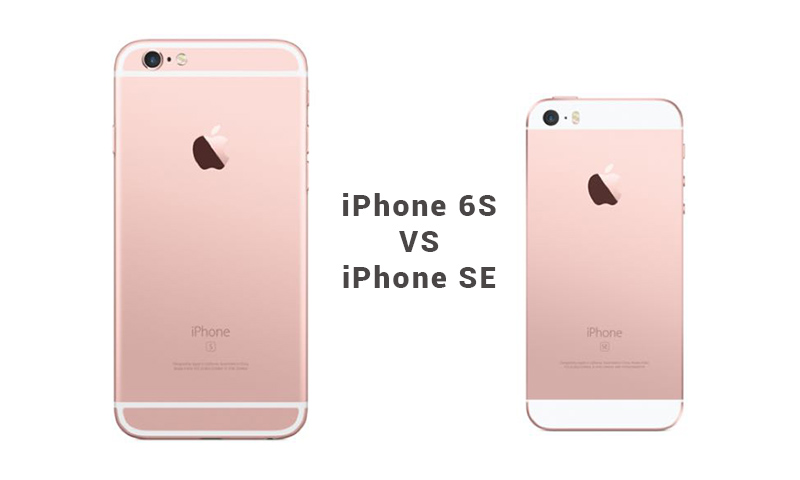 Iphone 6s vs iphone SE1