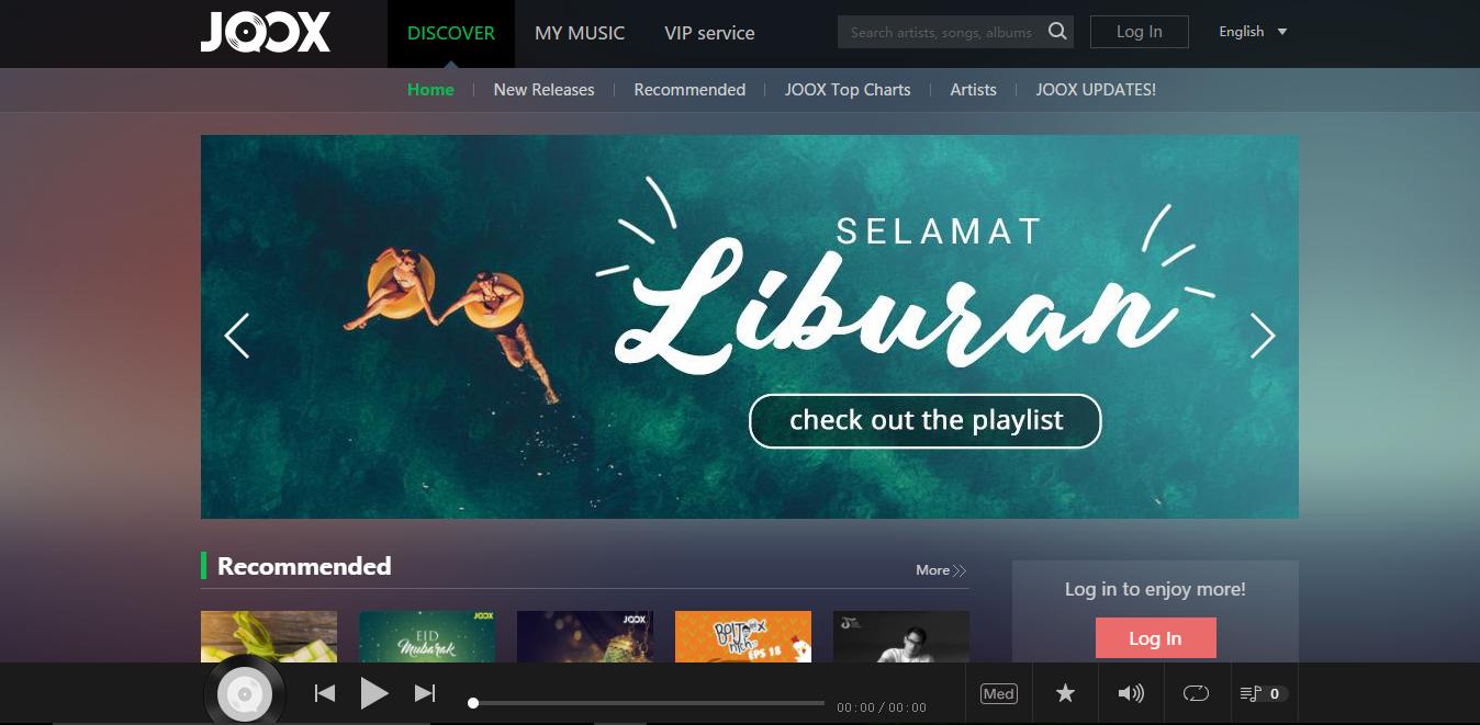 10 Aplikasi dan Website Musik Online Untuk PC dan Laptop yang Wajib