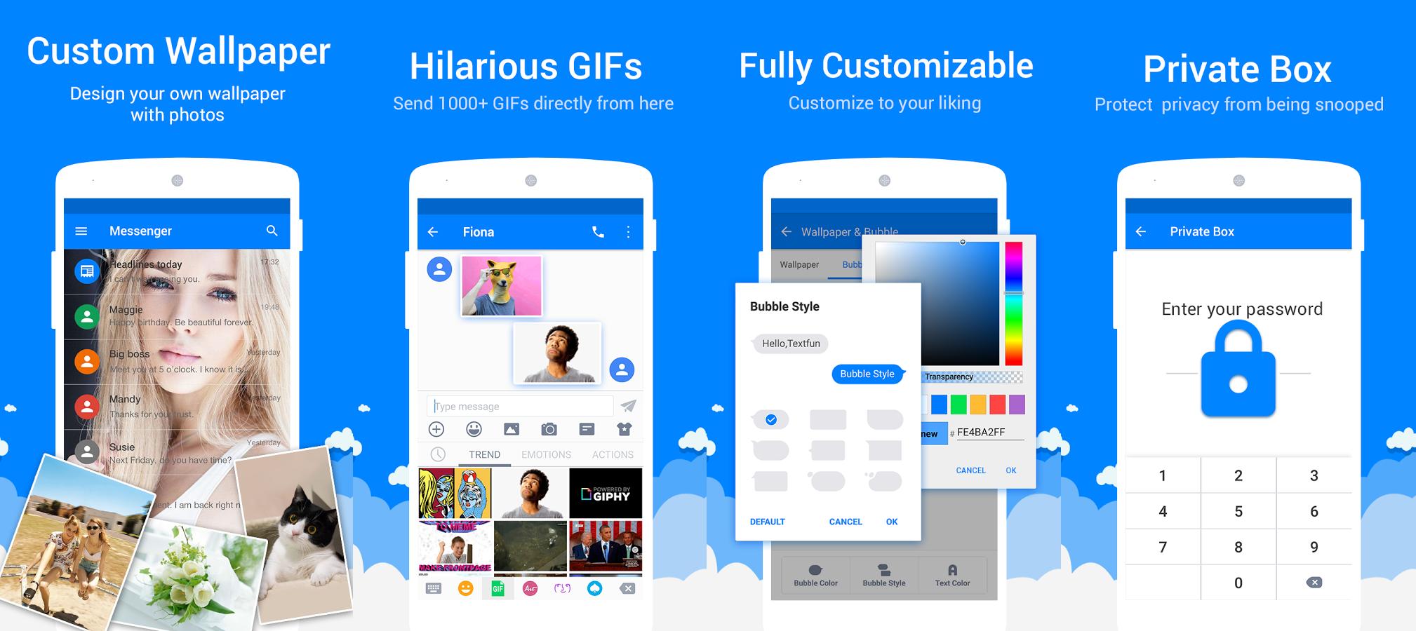 10 Aplikasi Android Untuk Ganti Tema Sms Paling Keren Terbaik Dan