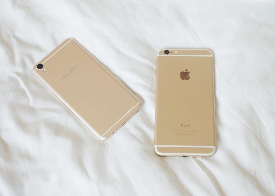 iPhone 6 Plus vs Oppo F1 Plus