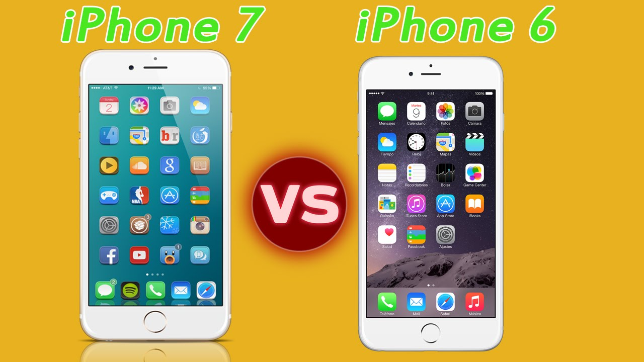 iphone 7 vs 6
