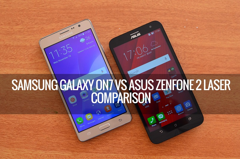 (1) Asus Zenfone 2 Laser ZE500KL VS Samsung Galaxy ON7 -1