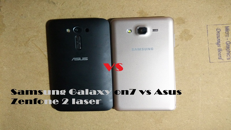 (1) Asus Zenfone 2 Laser ZE500KL VS Samsung Galaxy ON7 -2