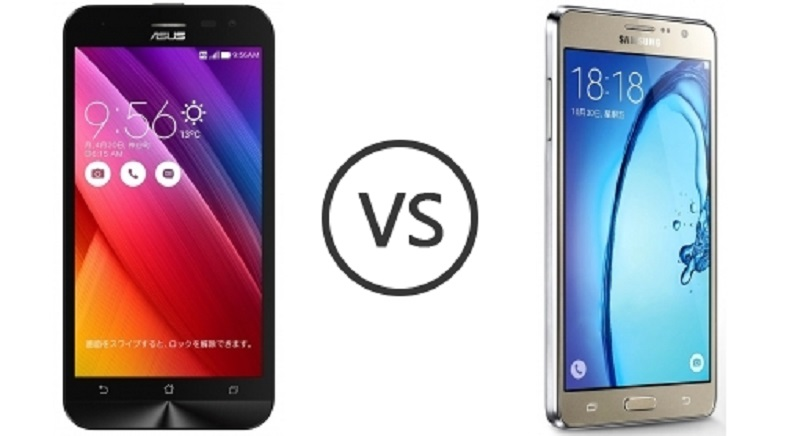 (1) Asus Zenfone 2 Laser ZE500KL VS Samsung Galaxy ON7