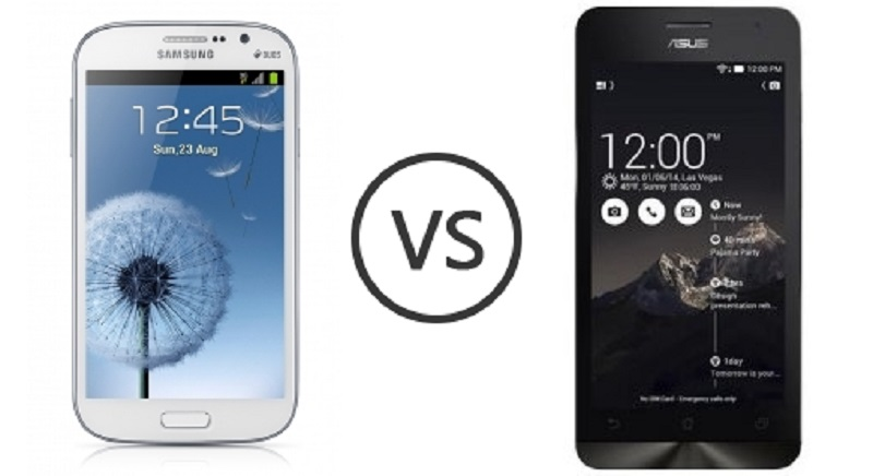 (1) Asus Zenfone 5 VS Samsung Galaxy Grand Duos -1