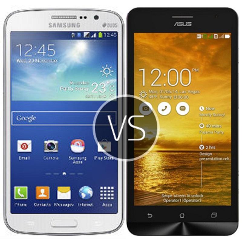 (1) Asus Zenfone 5 VS Samsung Galaxy Grand Duos