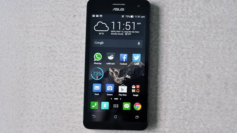 (1) Asus Zenfone 5 VS Sony Xperia M2 -2