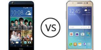(1) Samsung Galaxy J5 VS HTC Desire 626