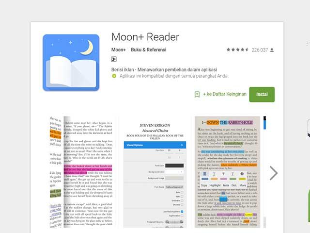 10 Aplikasi Android Untuk Membaca Ebook Paling Nyaman, Terbaik, dan Gratis 1