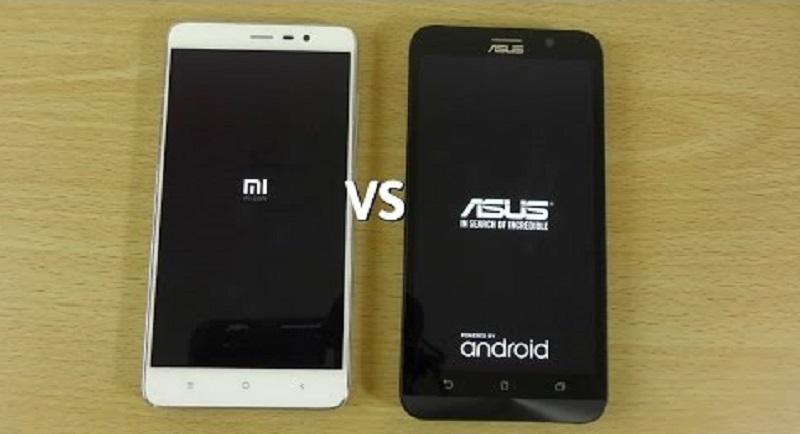 (2) Asus Zenfone 3 VS Xiaomi Redmi Note 3
