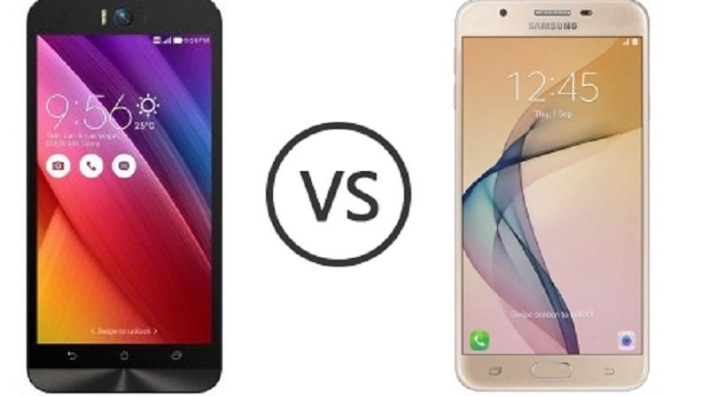 (2) Asus Zenfone Selfie VS Samsung Galaxy J5 Prime -1