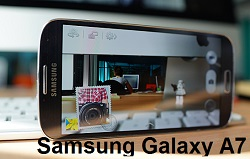 (2) Samsung Galaxy A7 camera