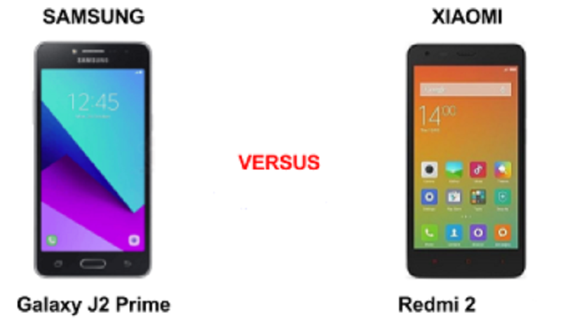 (2) Samsung Galaxy J2 VS Xiaomi Redmi 2 -1
