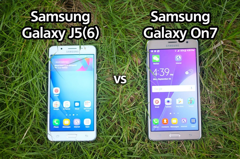(2) Samsung Galaxy J5 VS Samsung Galaxy ON7 -2