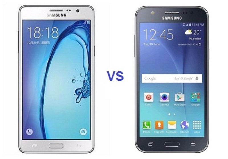 (2) Samsung Galaxy J5 VS Samsung Galaxy ON7