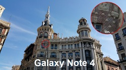 (2) camera Samsung Galaxy Note 4