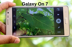 (2) camera Samsung Galaxy ON7