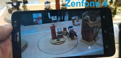 (4) camera Asus Zenfone 4