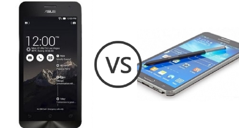 (5) Asus Zenfone 5 VS Samsung Galaxy Note 4 -1