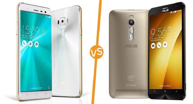 (5) Zenfone 3 VS Asus Zenfone 2 -3
