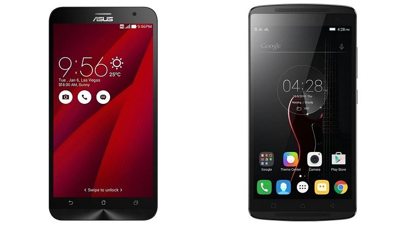 Asus Zenfone 2 Vs Lenovo K4