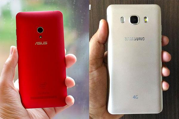 Perbandingan Asus Zenfone 5 vs Samsung Galaxy J5