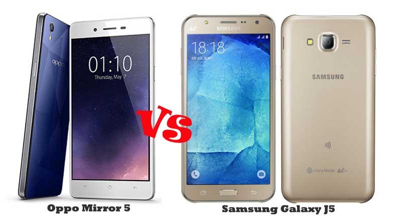 Oppo-Mirror-5-vs-Samsung-Galaxy-J5