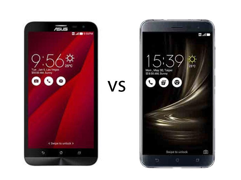 Perbandingan Bagus Mana HP Asus Zenfone 2 Laser ZE500KL VS Asus Zenfone 3 Laser Segi Harga 1