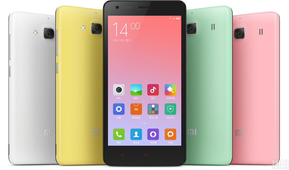 Review Xiaomi Redmi 2 White Smartphone