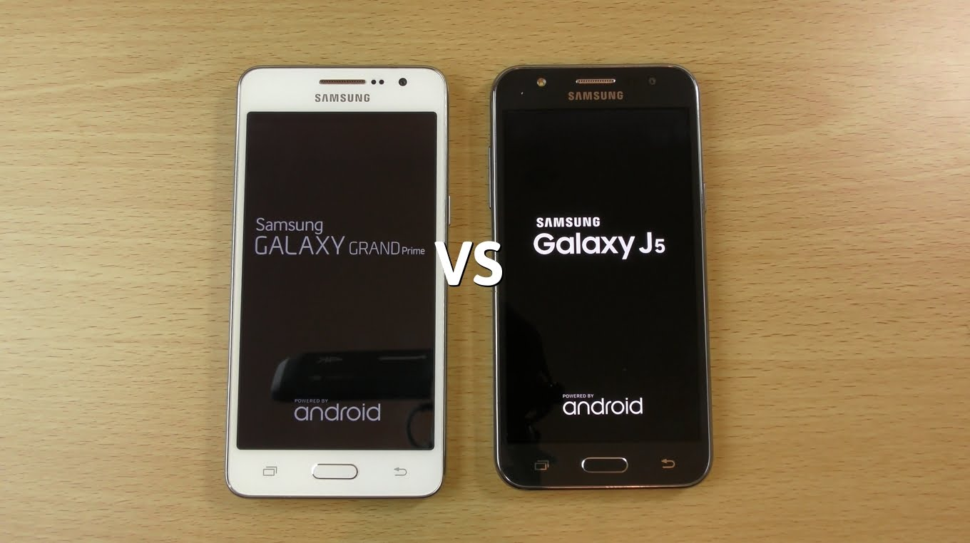 Samsung Galaxy J5 VS Samsung Galaxy Grand Prime Plus