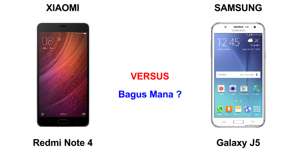 Samsung Galaxy J5 vs Xiaomi Redmi Note 4
