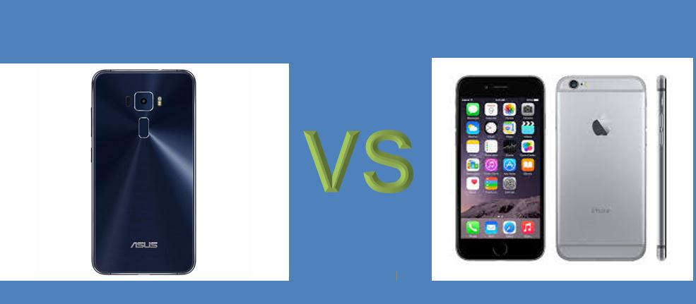 iphone 6 vs asus zenfone 3