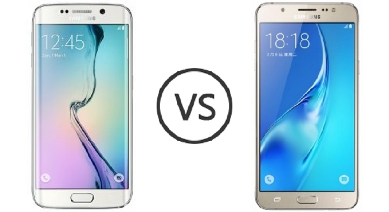 (1) Samsung Galaxy J7 VS Samsung Galaxy S6 Edge -1