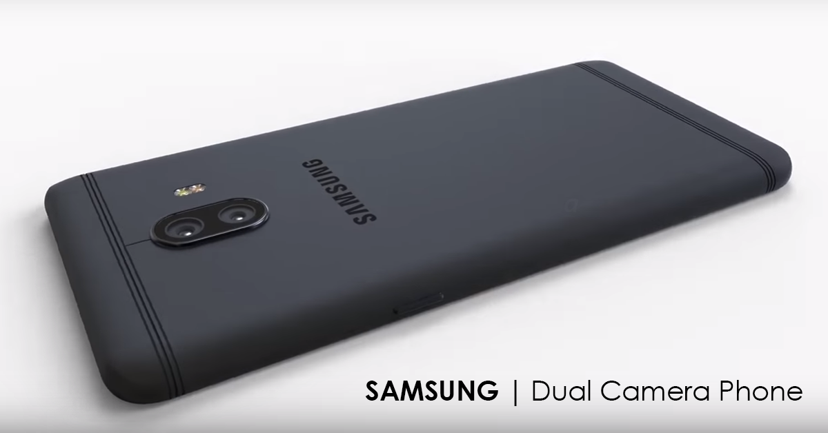 First Samsung Rear Dual Camera Phone