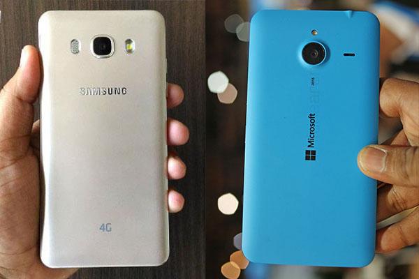 Perbandingan Bagus Mana HP Samsung Galaxy J5 VS Nokia Lumia 640 XL Segi Harga, Kamera, dan Spesifikasi di Indonesia 3