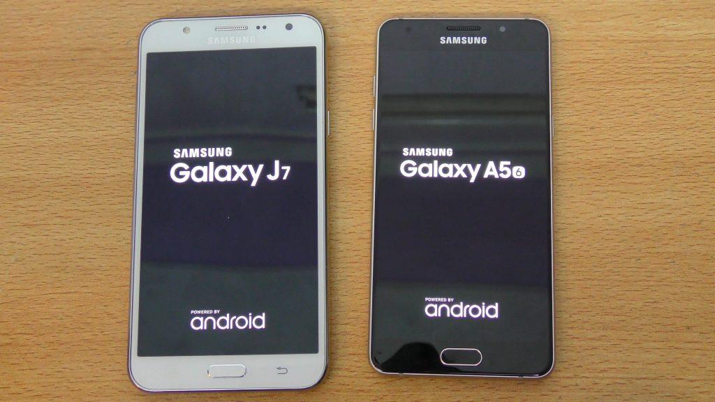 Perbandingan Bagus Mana HP Samsung Galaxy J7 VS A5 2016 Segi Harga Kamera Dan Spesifikasi Di Indonesia