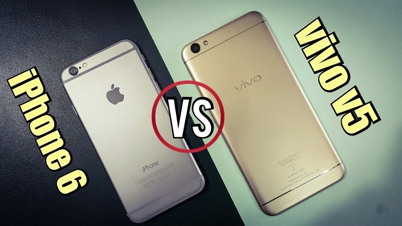 (2) vivo v5 iphone 6 1