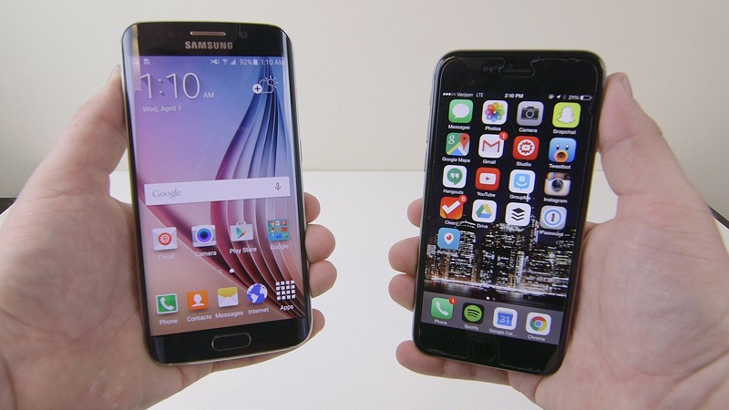 (5) samsung s6 edge plus iphone 7 2