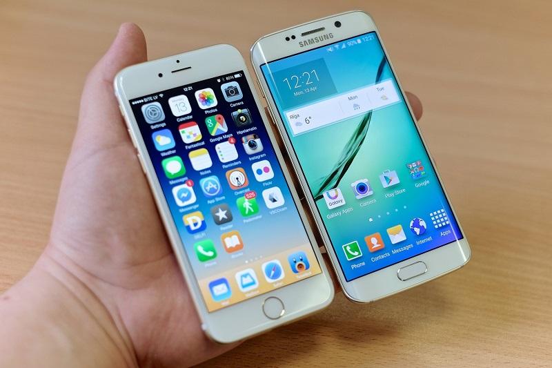 iphone 6 plus vs samsung s7 edge bagus mana