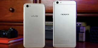 Vivo V5 vs Oppo F3 Plus