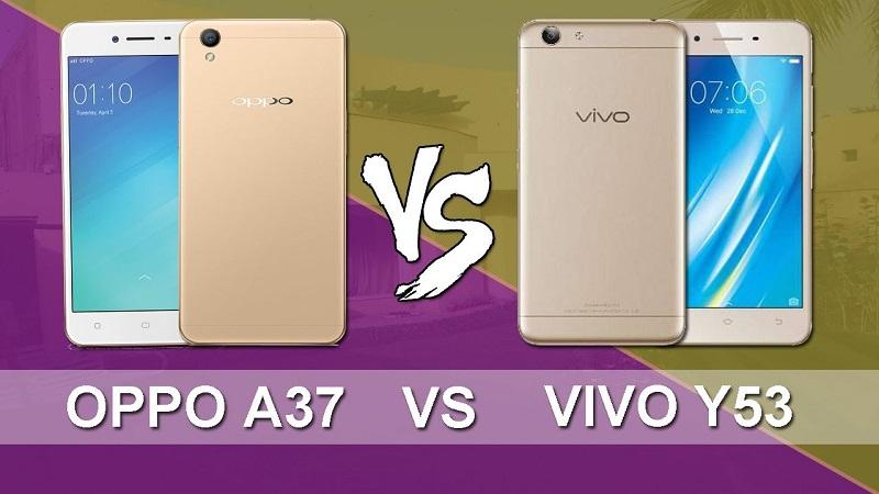 (2) Oppo A37 VS Vivo Y53 2
