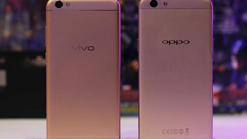 (2) Oppo A37 VS Vivo Y53 3